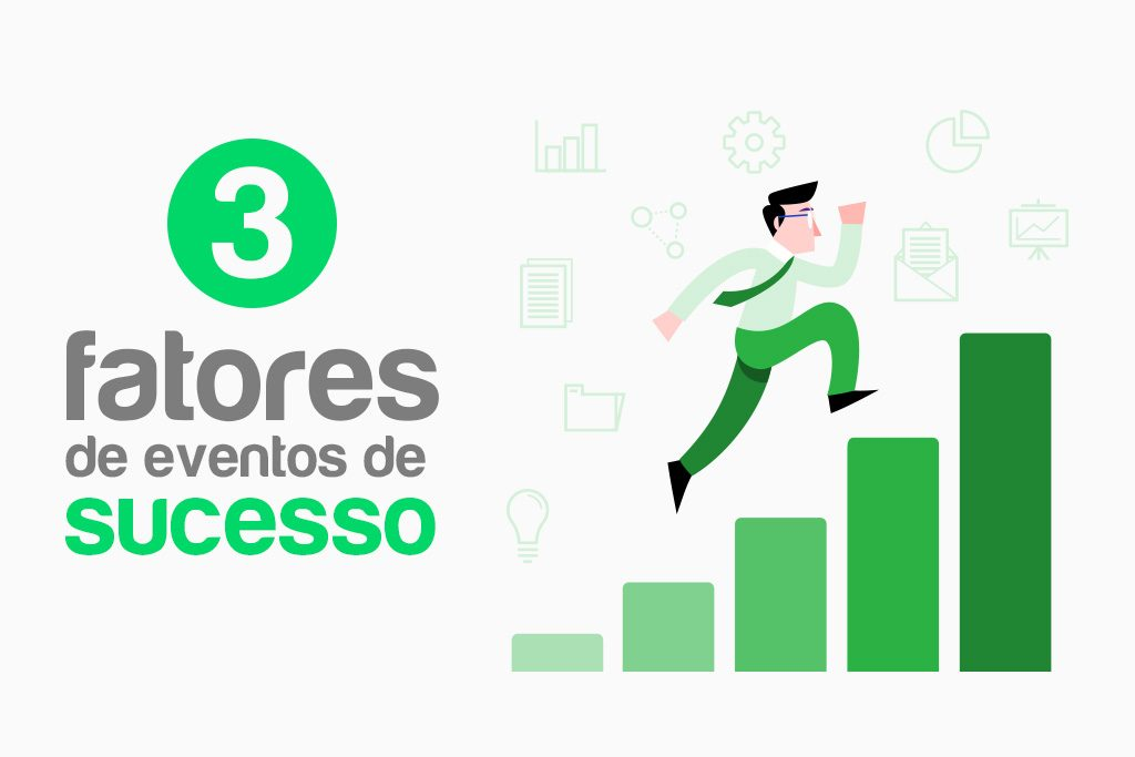 3 fatores de eventos de sucesso