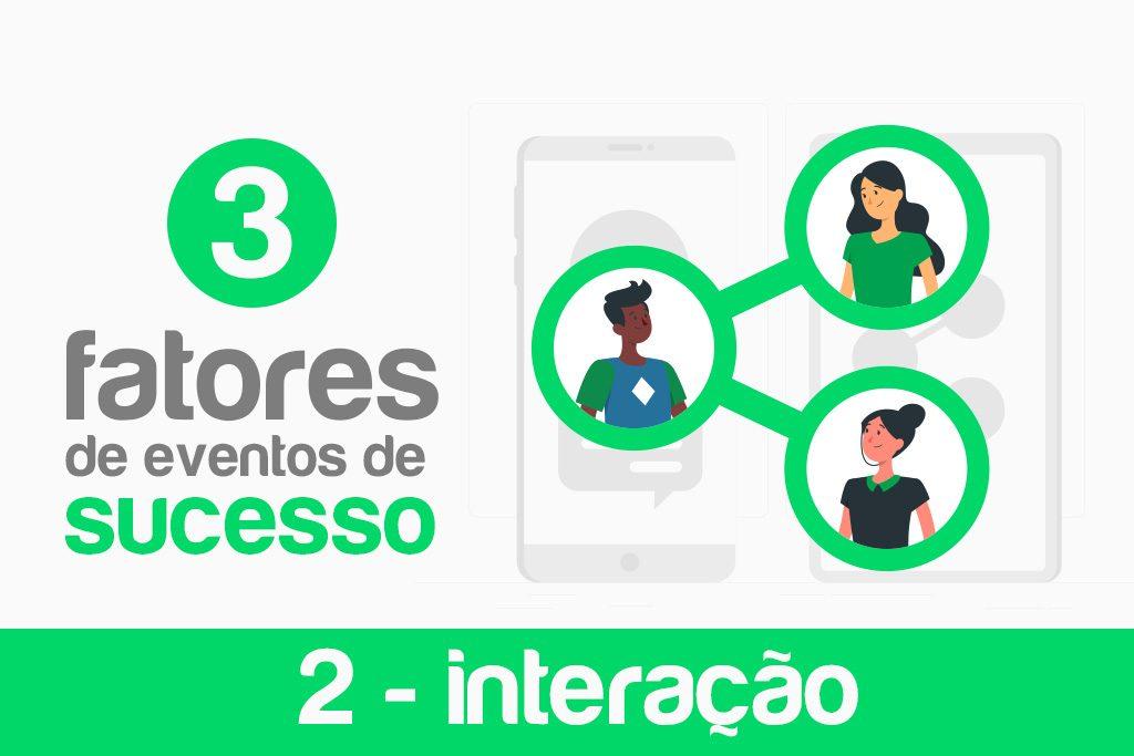 3 fatores de eventos de sucesso interação