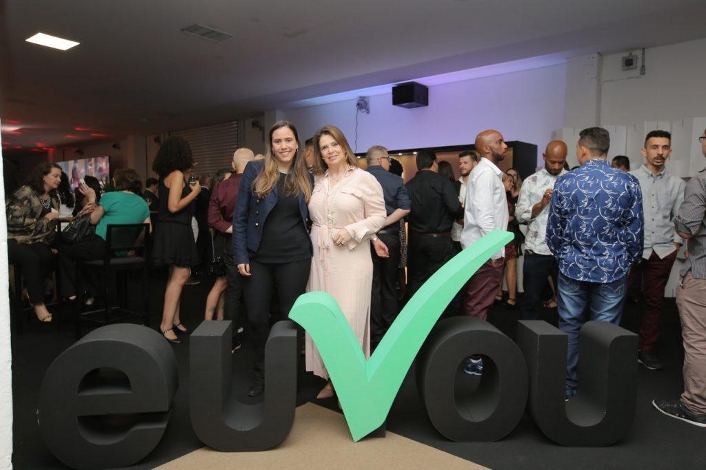 A euVou teve um espaço no evento para realizar network e mostrar nossa marca para os visitantes.
